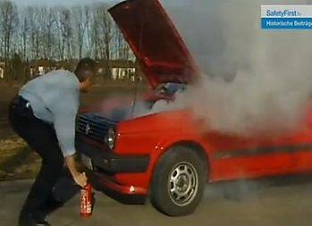 Autobrand löschen