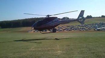 Hubschrauberunfall bei Flugshow: Rotorblätter töten Passanten