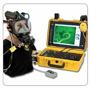 Safety of professional divers: Underwater telephone and