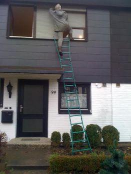 Tipps zur Vermeidung von Unfällen mit Leitern